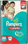 Pampers Pants Diapers - M  (56 Pieces)