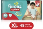Pampers Pants Diapers - XL  (48 Pieces)