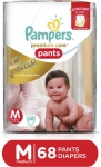 Pampers Premium Care Pants Diapers - M  (68 Pieces)