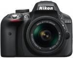 Nikon D3300 DSLR Camera (Body with AF-P DX NIKKOR 18 - 55 mm F3.5 - 5.6 VR Kit Lens)  (Black)