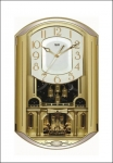 Ajanta Analog Wall Clock  (Multicolor, With Glass)