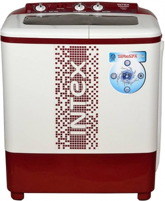 Intex 6.2 kg Semi Automatic Top Load Washing Machine Maroon At Just Rs.5999