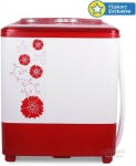 Panasonic 6.5 kg Semi Automatic Top Load Washing Machine Red At Just Rs. 7290