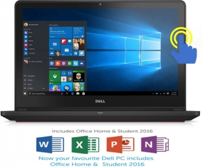 Dell Inspiron 7000 Core i5 6th Gen - (8 GB/1 TB HDD/8 GB SSD/Windows 10 Home/4 GB Graphics) 7559 Gaming Laptop  (15.6 inch, Black, 2.57 kg)