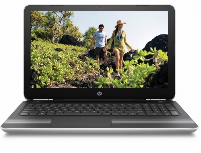 HP Core i7 7th Gen - (16 GB/2 TB HDD/Windows 10 Home/4 GB Graphics) 15-au627tx Laptop  (15.6 inch, SIlver, 2.04 kg)