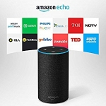Amazon Echo - Voice control your music, Get news, weather & more, Powered by Dolby (Includes 1 Year Prime Membership)