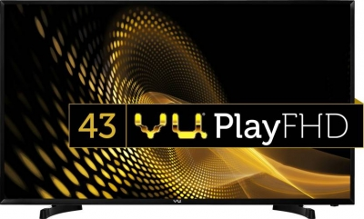 Vu 109cm (43 inch) Full HD LED TV  (43S6575 Rev PL)