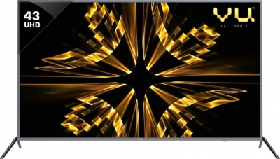 Vu Iconium 109cm (43 inch) Ultra HD (4K) LED Smart TV