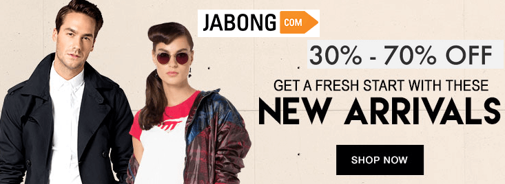 Jabong Coupons New